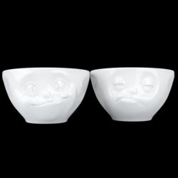 Set of 2 Medium Sized Bowls N°3 | White