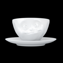 Coffee Cup and Saucer Tasty | White