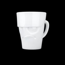 "Mug with Handle ""Grumpy"" | White"