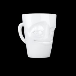 "Mug with Handle ""Impish"" | White"