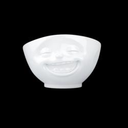 Schüssel Lachend 1000 ml | Weiß