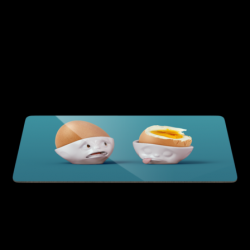 Frühstücksbrettchen | Half as Bad