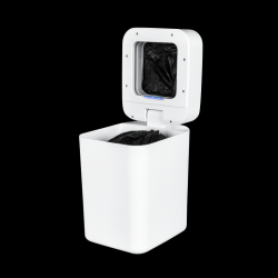 Smart Trash Can T1 | White + 25 Trash Bags