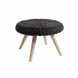 Coffee Table Abaca | Black