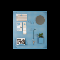 Magnettafel Tableau | Blau