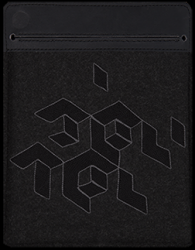"TABLET SLEEVE ""BLACK SYSTEM"""
