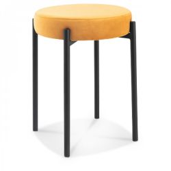 Stool Jack Velvet | Indie Yellow