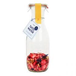 DIY Tafelwasser | Erdbeere & Jasmin