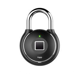 Smartes Fingerabdruck-Vorhängeschloss Tapplock One+ | Schwarz