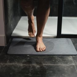 Bath Mat Diatomite | Dark Grey