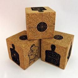 Desk Cork Voodoo Cube | Targets