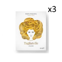 Pasta Bio Tagliatelle Good Hair Day 3er-Set | Al Tartufo