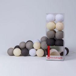 Lichtslinger Cotton Balls | Taupe