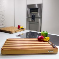 Chopping Board Gourmand | Light Wood