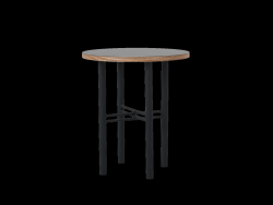 Table Basse Pento 40 x 40 x H 45 cm | Noir