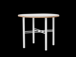 Coffee Table Pento 60 x 60 x H 45 cm | White