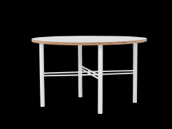 Coffee Table Pento 80 x 80 x H 45 cm | White