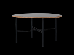 Table Basse Pento 80 x 80 x H 45 cm | Noir