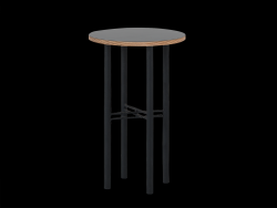 Coffee Table Pento 40 x 40 x H 60 cm | Black