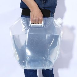 Foldable Water Bag | White