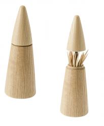 Porte-cure-dent Scalpium | Bois Clair