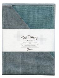 Tea Towel R.I.B. Set of 2 | Turquoise #29