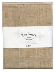 Tea Towel Natural Set of 2 | Persimmon