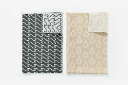 Tea Towels - Wave/Drop - Set of 2 | Colours