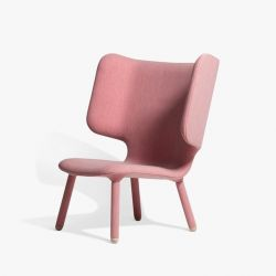 Tembo Chair | Uniform Melange Coral