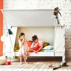 Zeltbett ohne Lagerung | Für Matratze 90 x 200 cm