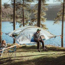 Safari Stachelrochen-Baumzelt | 3 Personen 4 Jahreszeiten