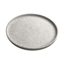 Terrazzo-Tablett | Weiß