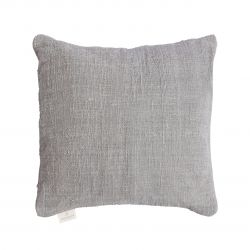Handwoven Cushion Jute 50 x 50 cm | Light Grey