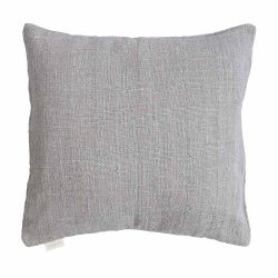Handwoven Cushion Jute 60 x 60 cm | Light Grey