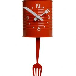 Pendulum Clock Barattolino | Red