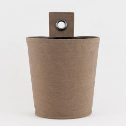 Plant Pot 'Green Pot' | Vintage Brown
