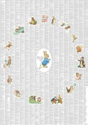"Childrens Poster ""The Complete Peter Rabbit & Friends"""