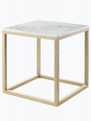 Oak Cube Table | Small