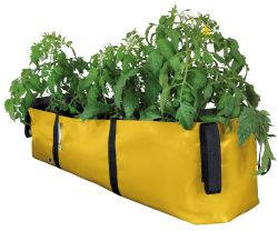 Plant Bag 'BLOCK' L 75 cm | Yellow