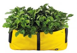 Plant Bag 'BLOCK' M 50 cm | Yellow