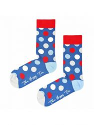 Unisex Socks | Huge Dots | Blue