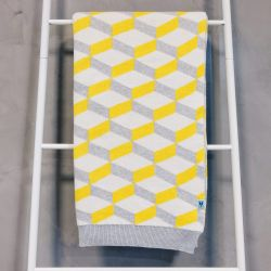 Throw Azulejo Aveiro | Yellow