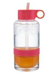 Trinkflasche mit Infusor Citrus Zinger Biggie 1L | Rot