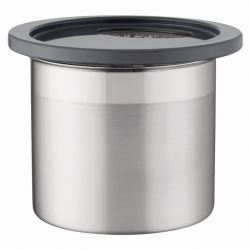 Kanister 12 x 11 cm | Metallisch