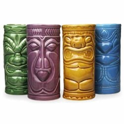 Becher Tiki | 4er-Set