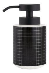 Dispenser Fliesen Stein groß | Schwarze Fliesen