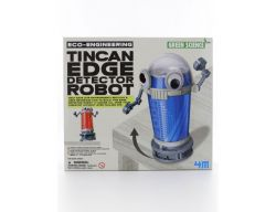 DIY Kit Make Your Own Tin Can Edge Detector Robot