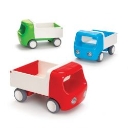 Set of 3 Tip Trucks Green, Red, Blue
