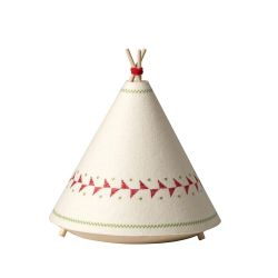 Lampe de Table Tipi | Rouge