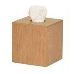 Tissue Box Mezza Cube | Helles Holz